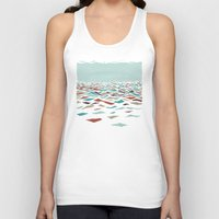 amy Tank Tops featuring Sea Recollection by Efi Tolia