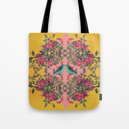 Love Birds II (yellow version) Tote Bag