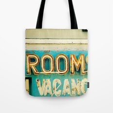Rooms Neon Sign Tote Bag