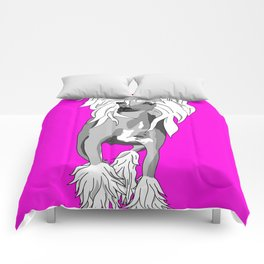 Sassy Chinese Crested Comforters
