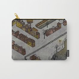 Wintery Town Carry-All Pouch