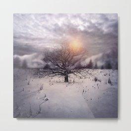 Lone Tree Love II Metal Print