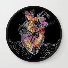 Heart the Bees Wall Clock