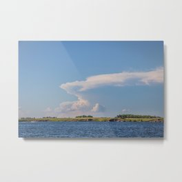 Thunderhead, Lake Sakakawea, North Dakota 2 Metal Print