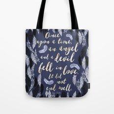 Daughter of Smoke and Bone quote design Tote Bag