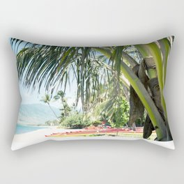Aloha Sugar Beach Rectangular Pillow