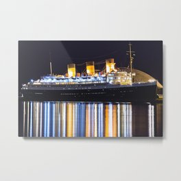 Queen Mary in Long Beach Metal Print