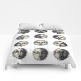 moon phases and romanticism Comforters
