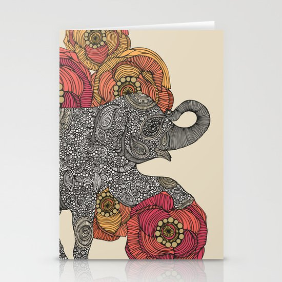Rosebud Stationery Cards