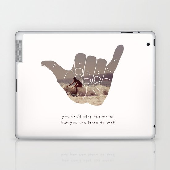 good vibrations Laptop & iPad Skin