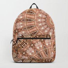 Mandala scandinavian symbols Backpack
