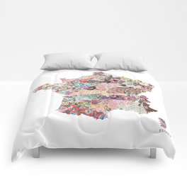 France map Comforters