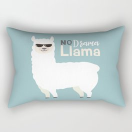 NO DRAMA LLAMA Rectangular Pillow
