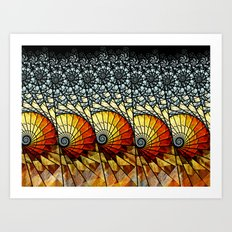 Billow Art Print