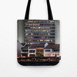 Architectual Antagonisms Tote Bag