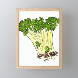 Sprouts Framed Mini Art Print