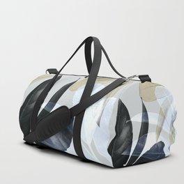 Moody Leaves II Duffle Bag