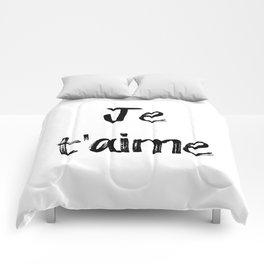 Je T'aime Comforters