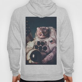 Beautiful cat astronaut Hoody