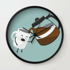 One of Those Mornings Wall Clock