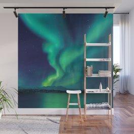 Aurora Borealis Lights Up the Sky (Northern Lights) Wall Mural