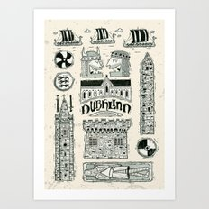 Dublinn Art Print