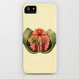 Lady Garden Botanical iPhone Case