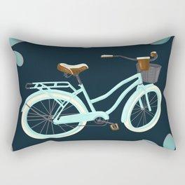 My Bike Floral Rectangular Pillow