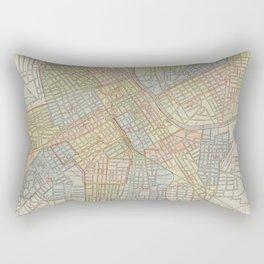 Vintage Map of Nashville Tennessee (1920) Rectangular Pillow