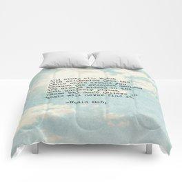 Roald Dahl Glittering Eyes Comforters