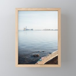 beachcombing Framed Mini Art Print