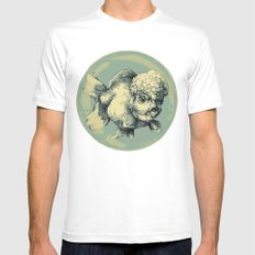 Bubble Head Fish Mens Fitted Tee White MEDIUM