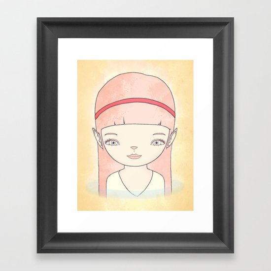 수호자 GUARDIAN Framed Art Print
