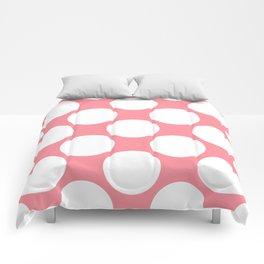 Polka Dots Pink Comforters
