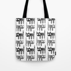 Three legged cats Tote Bag