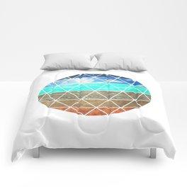 Elemental Geodesic  Comforters