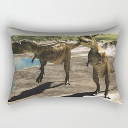 Dinosaur Abelisaurus 2 Rectangular Pillow