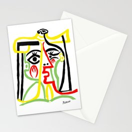 Pablo Picasso, Jacqueline with Straw Hat 1962, Artwork for Posters Prints Tshirts Women Men Kids Stationery Cards