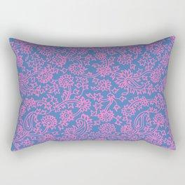 Indian Wood Block Pattern 2 Rectangular Pillow