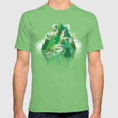 Mysterious Island Mens Fitted Tee Grass LARGE