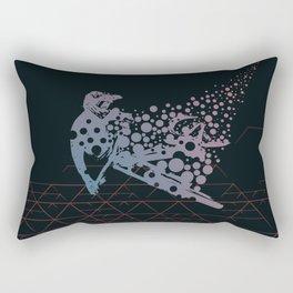 MTB Bubbles Rectangular Pillow