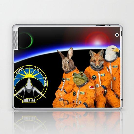 STARFOX - The Lylat Space Program Laptop & iPad Skin