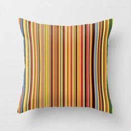 Old Skool Stripes - Bold Throw Pillow