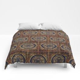 Grecian Bath House Tiles  Comforters