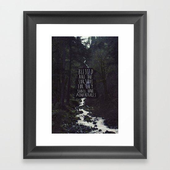 Curious Adventures Framed Art Print