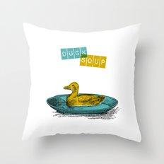 Duck Soup Throw Pillow