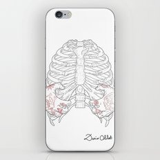 Human ribs cage iPhone & iPod Skin