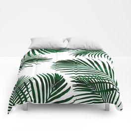 Tropical Palm Leaf Comforters
