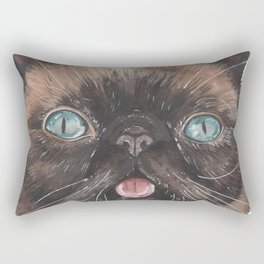 Der the Cat - artist Ellie Hoult Rectangular Pillow