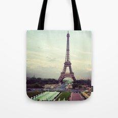 Summer in Paris Tote Bag